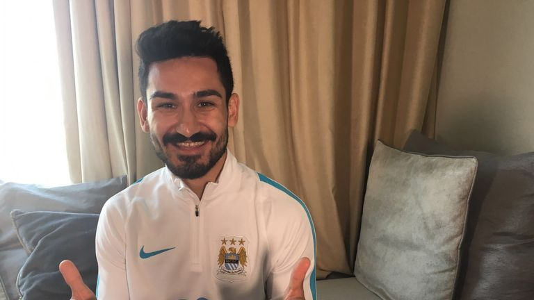 Gundogan has signed a four-year deal at Manchester City (picture courtesy of MCFC)