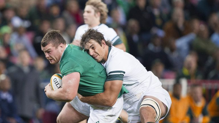 Jack McGrath made six carries and 17 tackles during Ireland's victory