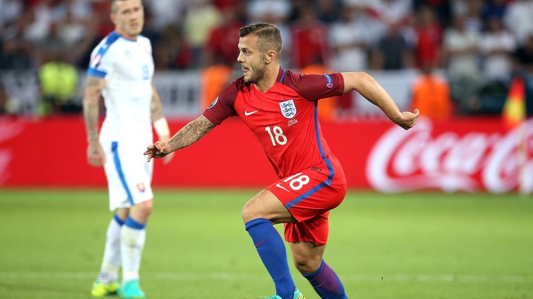 Wilshere is not in England's first squad under Sam Allardyce
