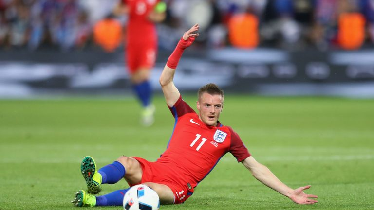 England striker Vardy will sign once he returns from Euro 2016