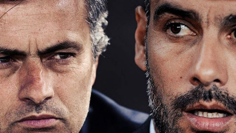Beckham has predicted an interesting battle in Manchester between Mourinho and Guardiola