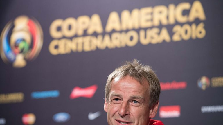 Jurgen Klinsmann is almost five years into his USA contract