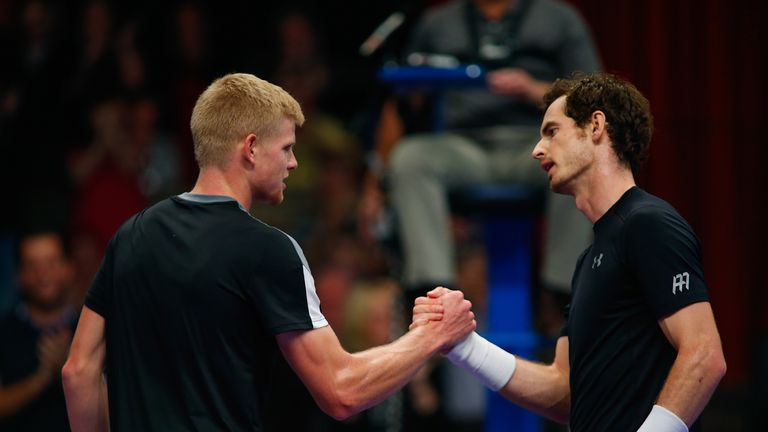 Kyle Edmund has replaced Andy Murray as Britain's No 1 tennis player