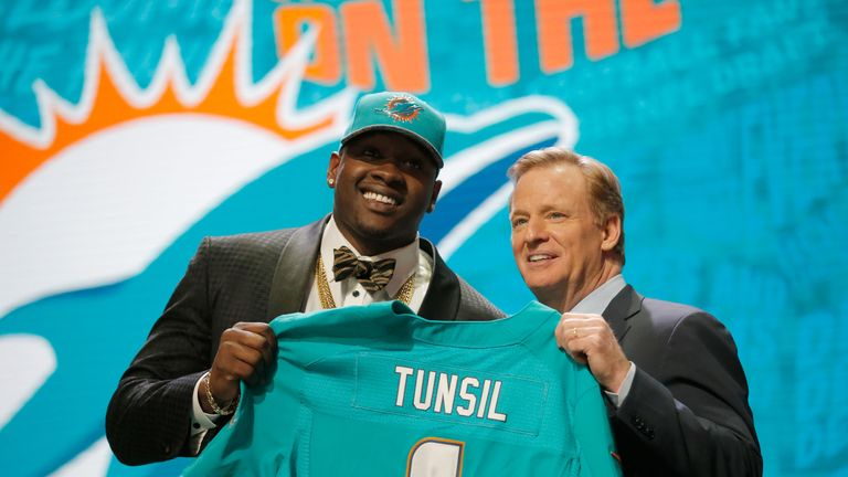 Laremy Tunsil had looked certain to be the first pick of the 2016 draft