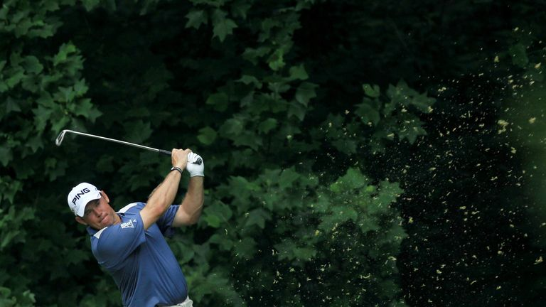 Westwood was a distant third to a dominant Rory McIlroy at Congressional