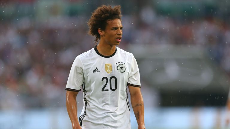 Sane will be hoping to his three Germany caps at Euro 2016