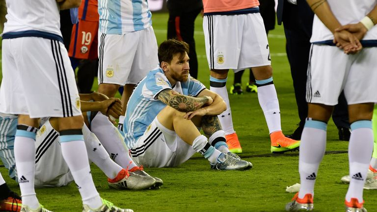 Argentina have suffered back-to-back penalty shoot-out defeats to Chile in the last two Copa America finals