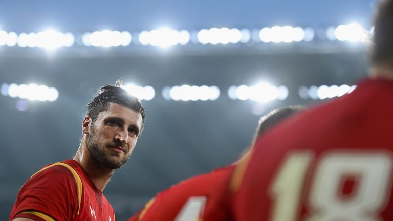Luke Charteris will captain Wales against the Chiefs