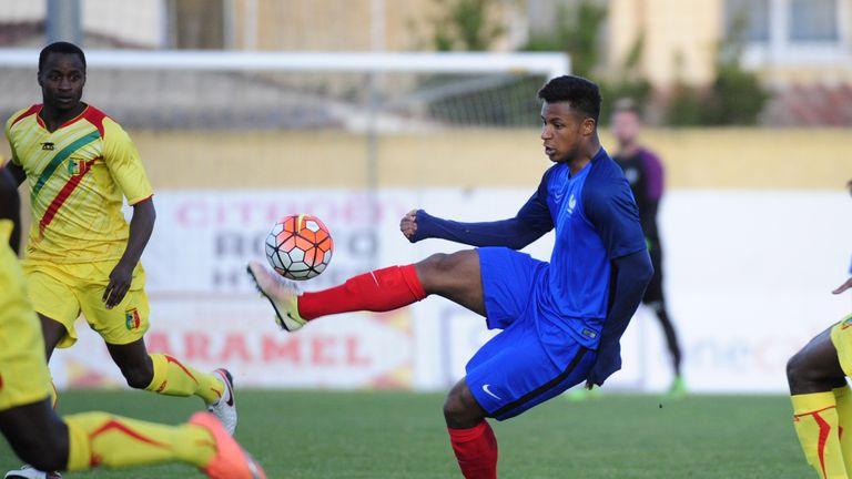 New Bournemouth signing Lys Mousset has been capped at Under-20 level by France