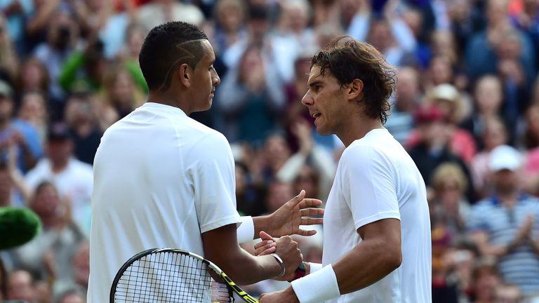 Nick Kyrgios memorably beat Rafael Nadal at Wimbledon in 2014