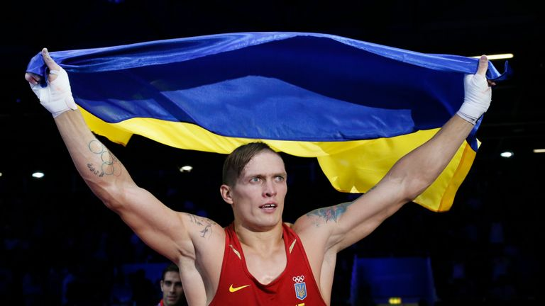 Usyk won gold at 2011 World Championships with Joshua claiming silver in Baku