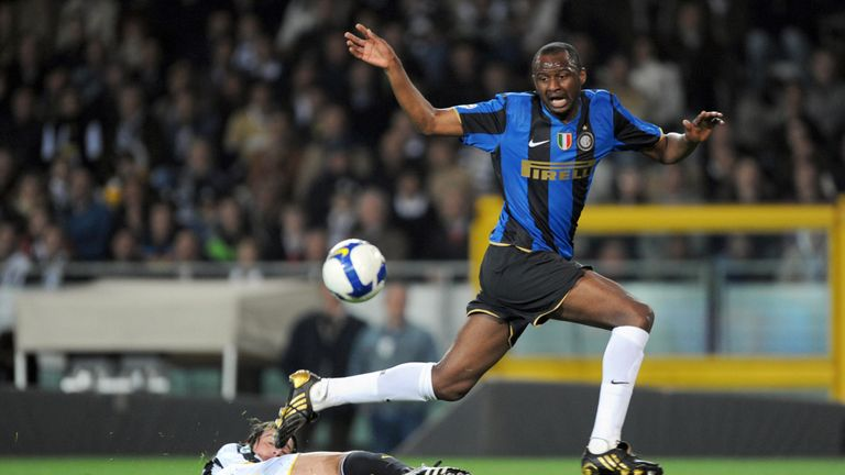 Vieira had a successful - if injury-hit - four seasons at Inter Milan