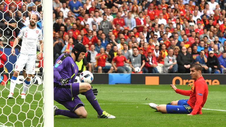 Petr Cech started Czech Republic's three games at Euro 2016