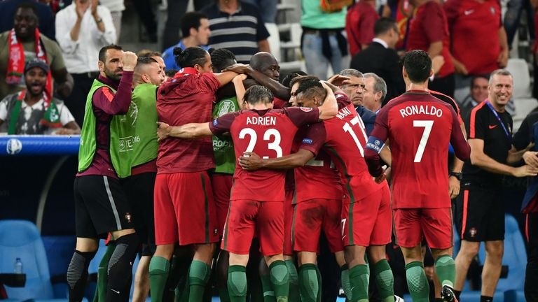 Portugal are yet to win a game in 90 minutes at Euro 2016 despite reaching the semi-finals