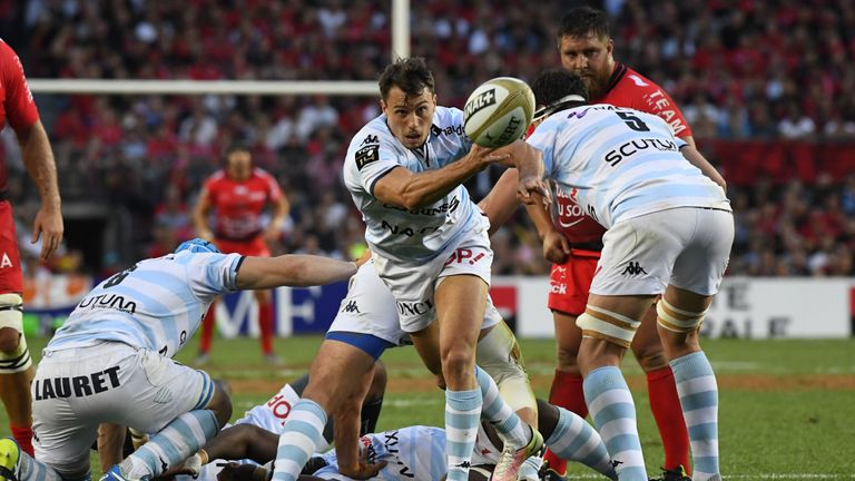 Wing Juan Imhoff  stepped into the role of scrum-half for Racing 92.