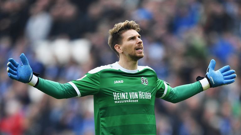 Ron-Robert Zieler joined the Foxes on a four-year contract
