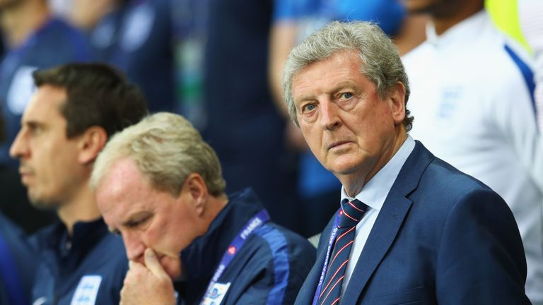 Roy Hodgson is under pressure as England manager