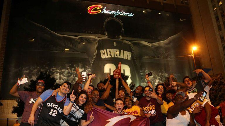 Cleveland Cavaliers win NBA Championship