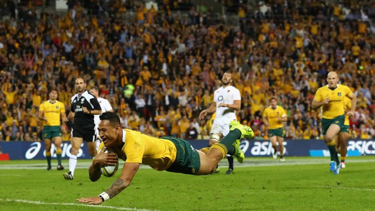 Folau is widely regarded as Australia's best rugby union player