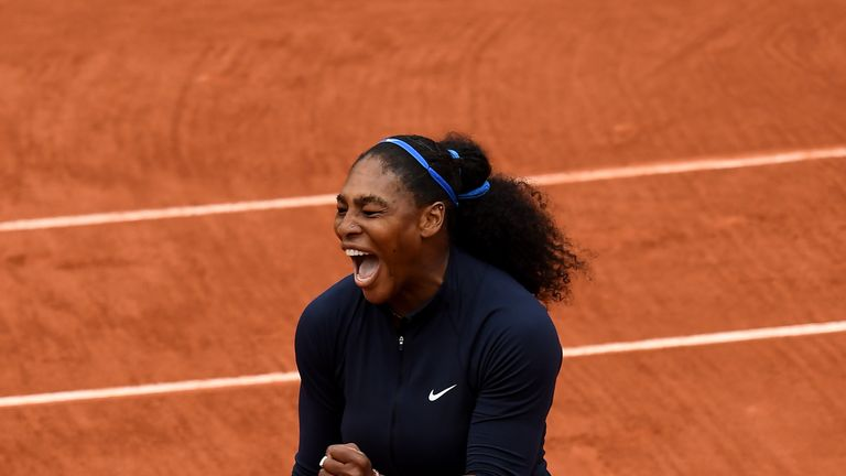 Serena Williams (40) is one of only two women on the list