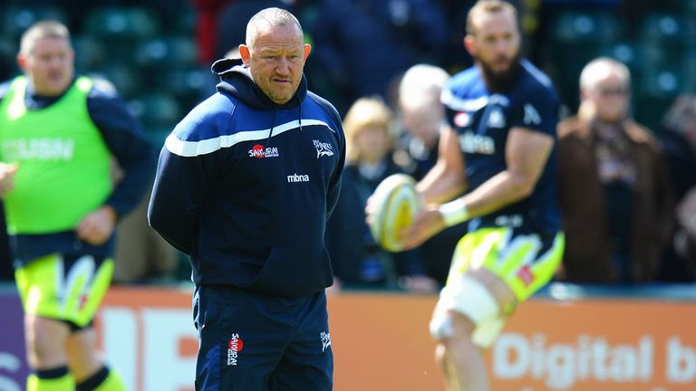 Steve Diamond, director of rugby at Sale Sharks, says foreign impetus is needed in the Aviva Premiership