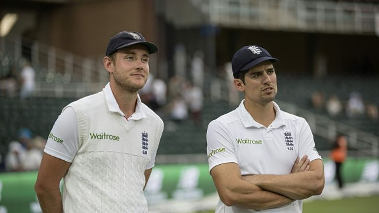 Many of Broad's Test wickets came under Cook's captaincy