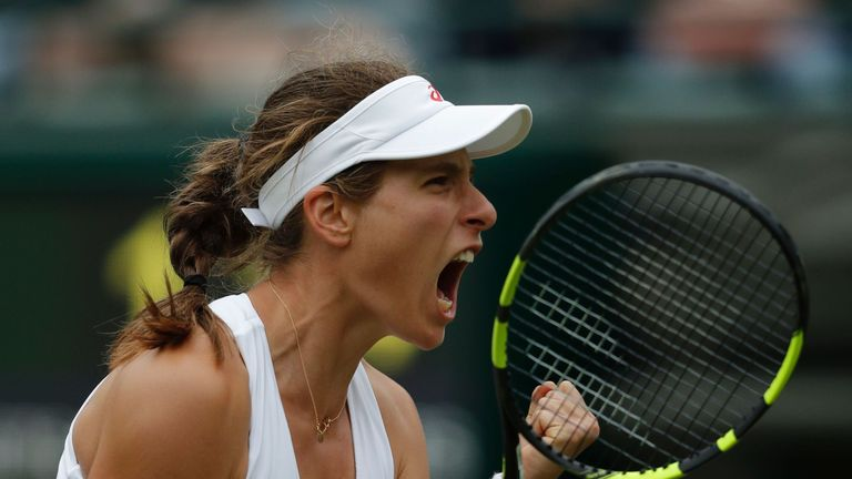 Johanna Konta is entered in the singles and doubles