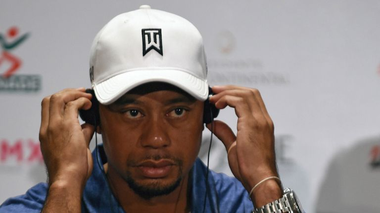 Woods admits not being able to play golf is tough