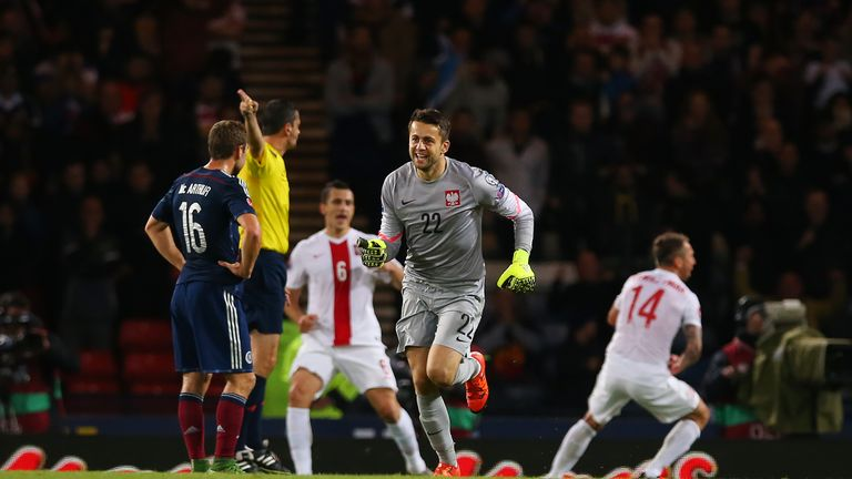 Lukasz Fabianski was in fine form for Poland in qualifying and at Euro 2016