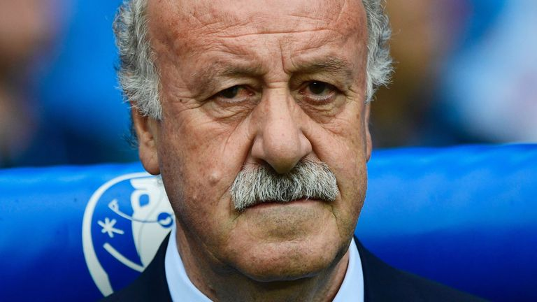 Vicente Del Bosque shrugged off questions about his future after Spain's Euro 2016 exit