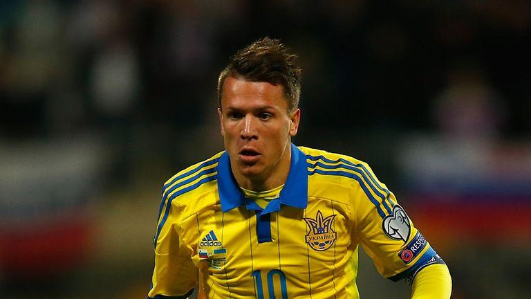Yevhen Konoplyanka is one of Ukraine's star players at Euro 2016
