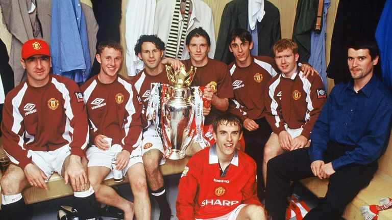 Giggs  won 13 Premier League titles, four FA Cups, three League Cups and two European Cups during his glittering career with United