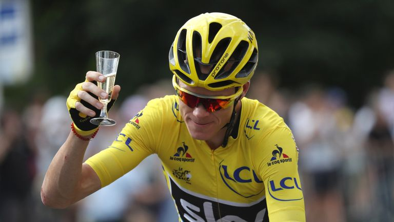 Chris Froome won the Tour de France with Team Sky in 2013, 2015, 2016 and 2017.