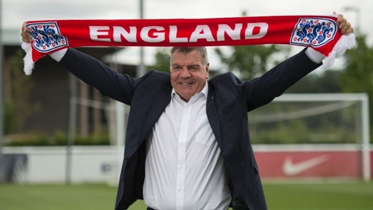 Sam Allardyce was appointed England manager 25 days after Roy Hodgson stepped down