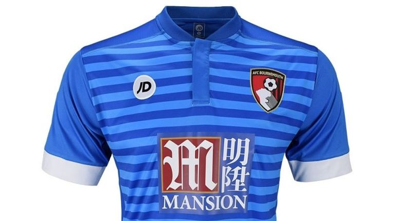 2470746a7d5f Bournemouth s away kit for the 2016 17 season (Image c o Bournemouth AFC