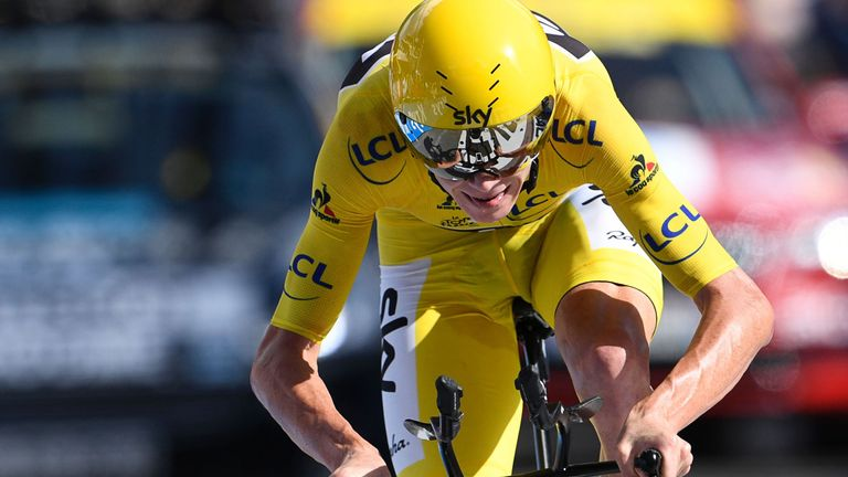 Froome is targeting victory in the Olympic time trial