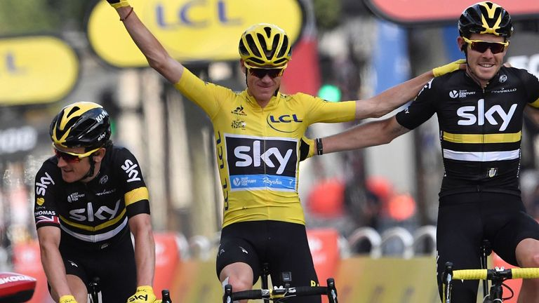 Froome is aiming to follow up his Tour de France win with more success in the Olympics