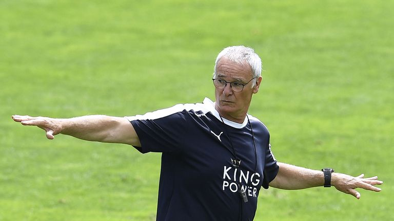 Claudio Ranieri is currently in Austria with the first-team squad as preparations step up for the new season