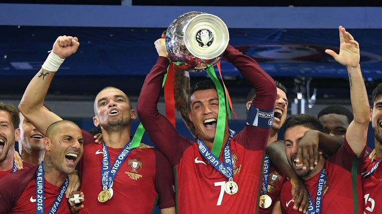 Cristiano Ronaldo helped Portugal win Euro 2016