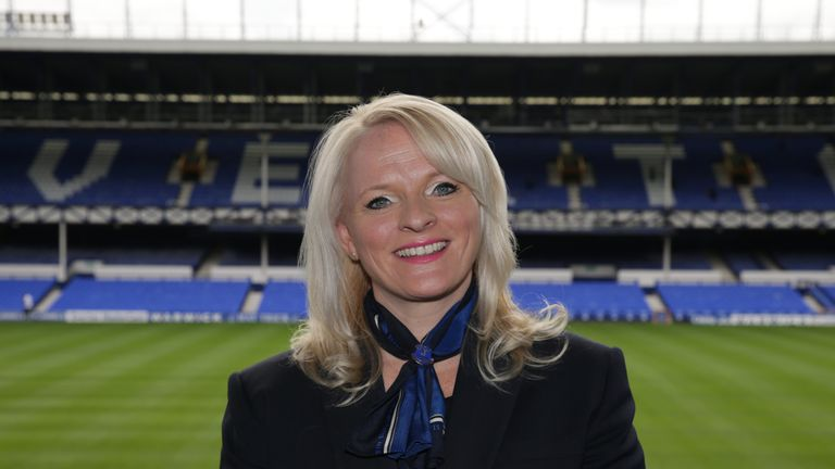 Denise Barrett-Baxendale says Everton remain firm in their ambition to challenge at the top of domestic and European football
