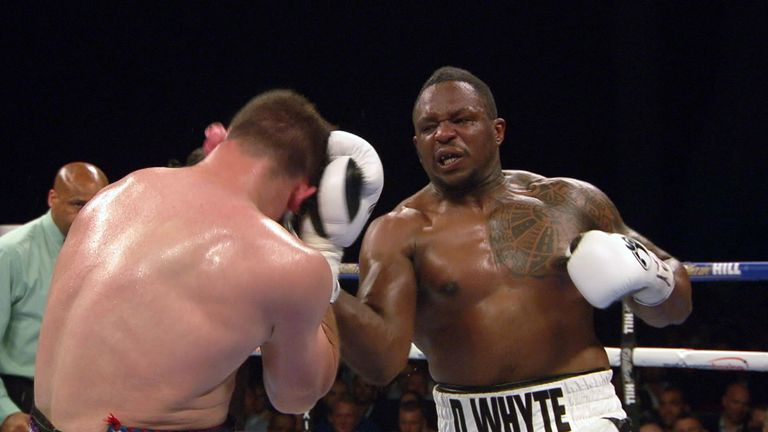 Whyte proved too good for Allen in Leeds