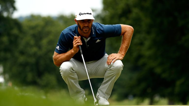 Victory is Dustin Johnson's fourth consecutive top-five finish on the PGA Tour