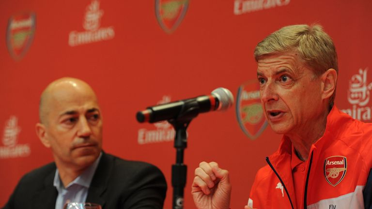 Chief executive Ivan Gazidis said Arsenal cannot compete with the top transfer fees