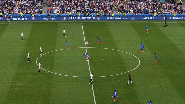 The kick-off restart can now go backwards