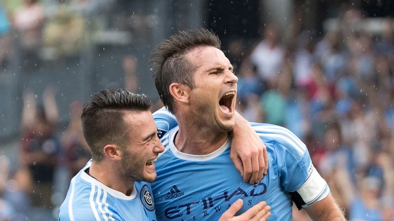 Lampard left New York City FC following the expiration of his MLS contract in December