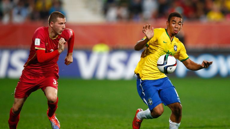 The 22-year-old is set to represent Brazil at the Olympic Games in Rio