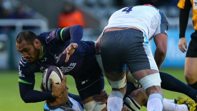 George Naoupu arrives at Harlequins from Connacht and is their fifth summer signing
