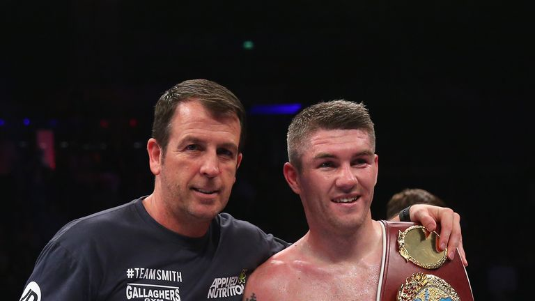 Smith previously held the WBO super-welterweight belt