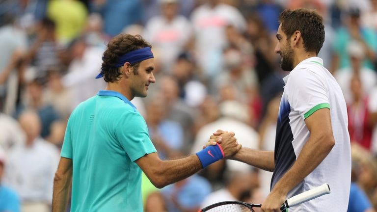 Marin Cilic's victory over Federer at the US Open in 2014 remains his only win against the Swiss star