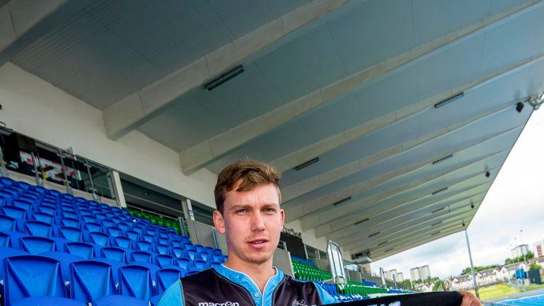 Hagen Schulte played alongside Warriors team-mate Finn Russell in New Zealand